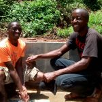 The Water Project: Elukani Community, Ongari Spring -  Clean Water