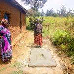 The Water Project: Esembe Community -  Sanitation Platform