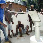 The Water Project: Kolia Community -  Pump Installation