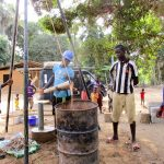 The Water Project: Kipolo Community -  Cleaning Out The Well