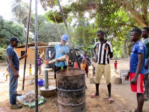 The Water Project:  Cleaning Out The Well