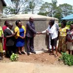 The Water Project: Imbale Secondary School -  Handing Over Ceremony