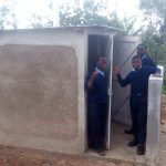 The Water Project: Esibeye Secondary School -  New Latrines