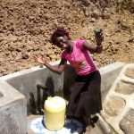 The Water Project: Musango Community, Ham Mwenje Spring -  Clean Water