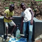 The Water Project: Ivulugulu Community, Ishangwela Spring -  Clean Water