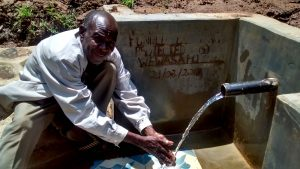 The Water Project:  Mr Hezron Buchere