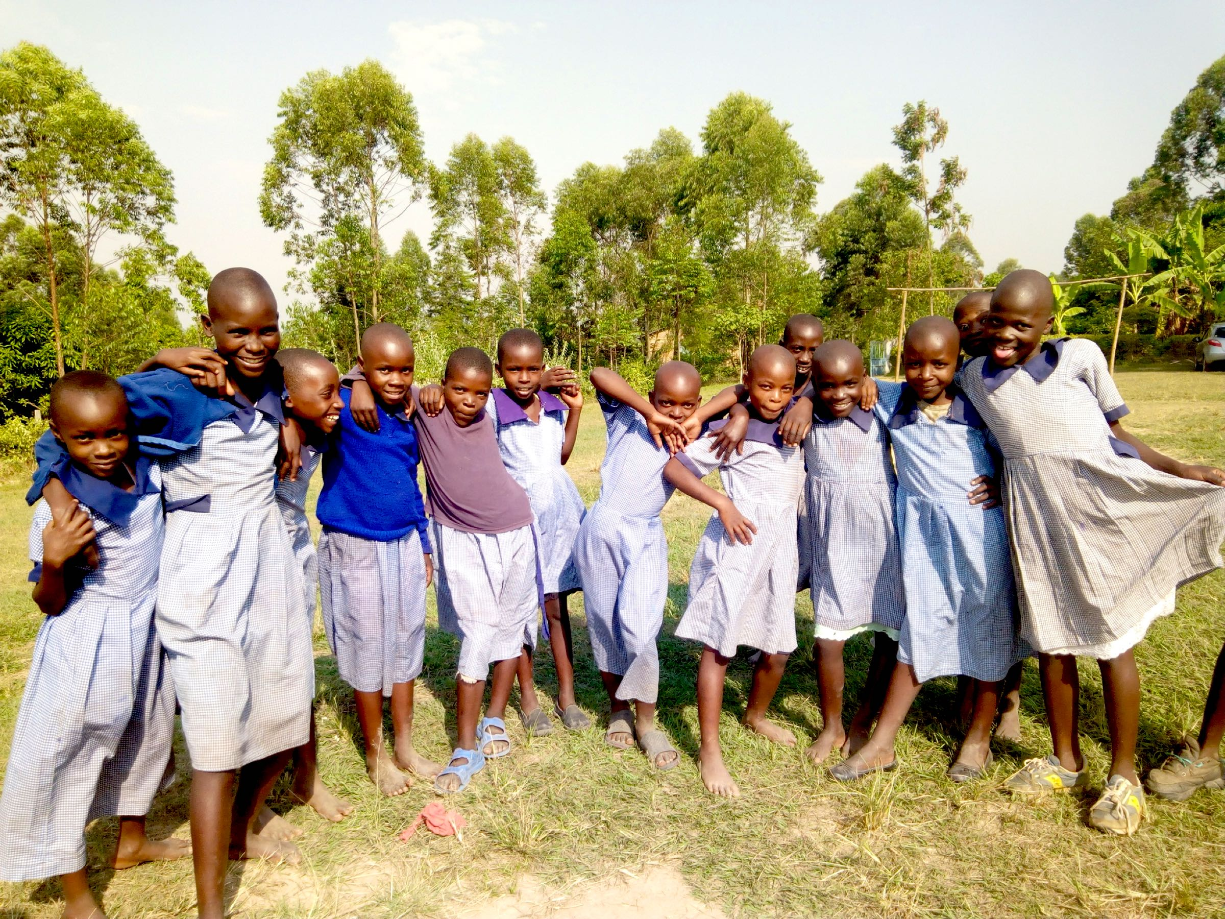 The Water Project : 3-kenya18025-students