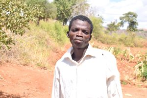The Water Project:  Stephen Kimanthi