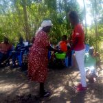 The Water Project: Musango Community, Dawi Spring -  Handwashing Training