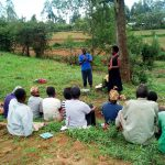 The Water Project: Ikonyero Community, Jesse Spring -  Handwashing Training