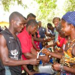 The Water Project: Kolia Community -  Building Handwashing Stations