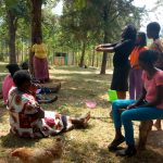 The Water Project: Shibuli Community, Khamala Spring -  Hand Washing Training
