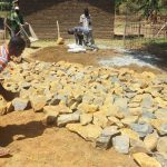 The Water Project: Shibale Secondary School -  Stones For Construction