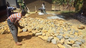 The Water Project:  Stones For Construction