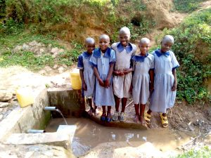 The Water Project:  Girls Showing Us Where They Get Water