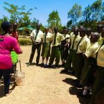 The Water Project: Bushili Secondary School -  Handwashing Training