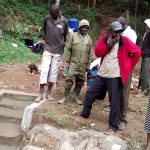 The Water Project: Lwenya Community, Warosi Spring -  Training