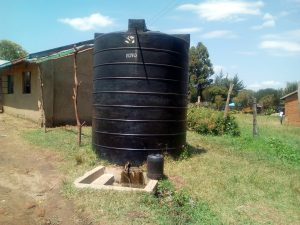The Water Project:  The Plastic Tank