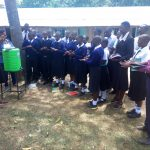 The Water Project: Shanjero Secondary School -  Handwashing Training