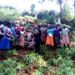 The Water Project: Shilakaya Community, Shanamwevo Spring -  Handwashing Training