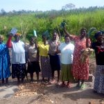 The Water Project: Musango Community, Dawi Spring -  Training At The Spring