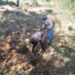 The Water Project: Ataku Community -  Digging Drainage