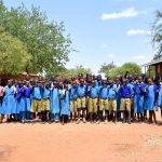 The Water Project: Kyulungwa Primary School -  Students And Headteacher