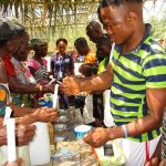 The Water Project: Sanya Community -  Building Handwashing Stations
