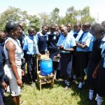 The Water Project: Muyere Secondary School -  Hand Washing Training