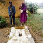 The Water Project: Itukhula Community, Lipala Spring -  Sanitation Platform