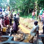 The Water Project: Shilakaya Community, Shanamwevo Spring -  Learning About The Construction