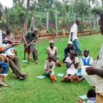 The Water Project: Bumavi Community, Esther Spring -  Handwashing Training