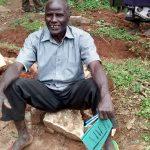 The Water Project: Lwenya Community -  Samwel Saina