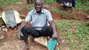 The Water Project:  Samwel Saina