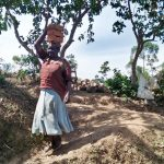 The Water Project: Ataku Community, Ataku Spring -  Carrying Bricks