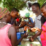 The Water Project: Kipolo Community -  Building Handwashing Stations