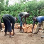 The Water Project: Lihanda Secondary School -  Latrine Construction