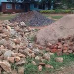 The Water Project: Shamalago Primary School -  Construction Materials