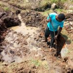 The Water Project: Shibuli Community, Khamala Spring -  Excavation