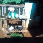 The Water Project: Shirakala Community -  Kenya A Sample Dishrack