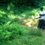 The Water Project: Shirakala Community -  Kenya Walking To Spring To Collect Water
