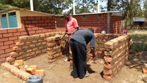 The Water Project:  Laying Bricks For Latrines