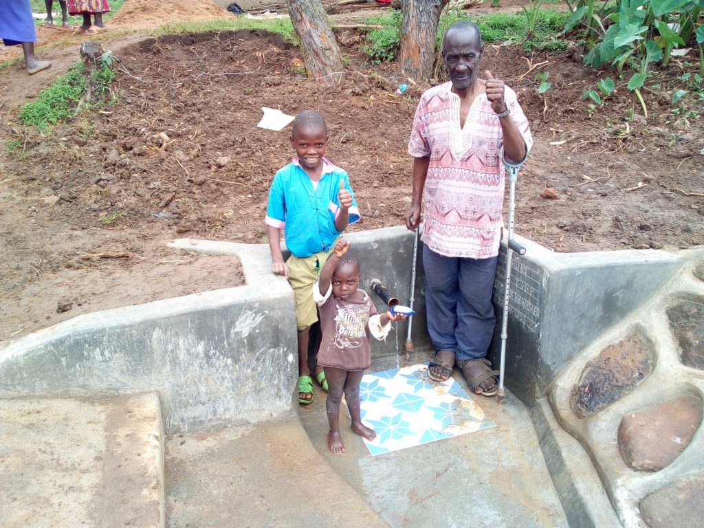 The Water Project : kenya18115-clean-water