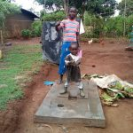 The Water Project: Musango Community D -  Excited About New Latrine