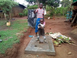 The Water Project:  Excited About New Latrine