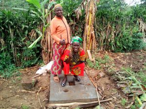 The Water Project:  New Latrine Platform Is Done