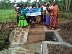 The Water Project:  New Protected Spring