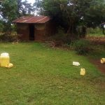 The Water Project: Emulakha Community, Alukoye Spring -  Water Containers In Homestead