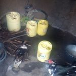 The Water Project: Nambatsa Community -  Water Containers In A Kitchen
