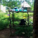 The Water Project: Handidi Community, Chisembe Spring -  A Dishrack At This Household